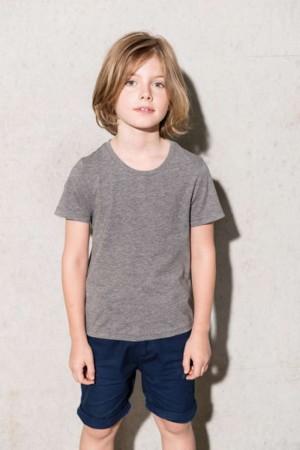 KIDS' ORGANIC COTTON SHORT SLEEVE T-SHIRT