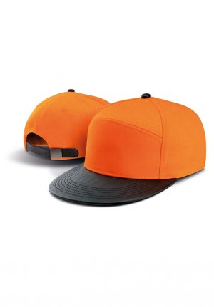 FASHION FLAT PEAK CAP -  6 PANELS