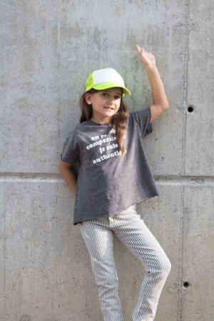 KIDS' TRUCKER MESH CAP - 5 PANELS