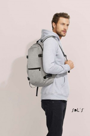 WALL STREET - 600D POLYESTER BACKPACK
