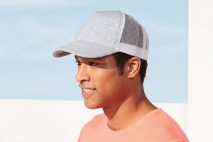 DODGE - 5-PANEL HEATHER MESH CAP