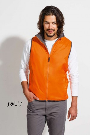 WINNER - UNISEX CONTRASTED REVERSIBLE BODYWARMER